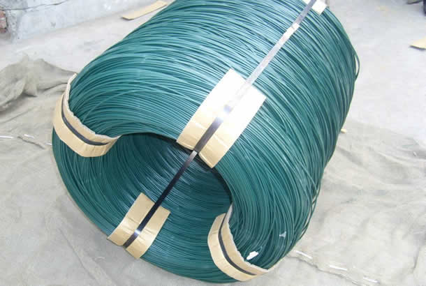 PVC Coated Wire possesses good insulating properties